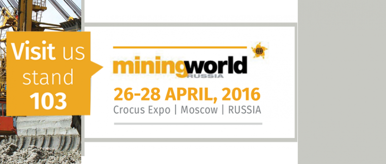 MININGWORLD 2016 // du 26 au 28 Avril 2016 // MOSCOU