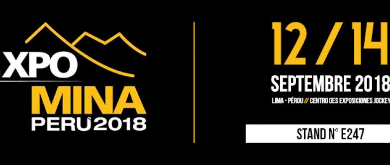 EXPOMINA 2018 // From 12 to 14 September 2018 // Lima - Peru