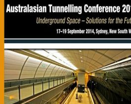 AUSTRALASIAN TUNNELLING CONFERENCE // from 17 to 19 september 2014 // AUSTRALIA