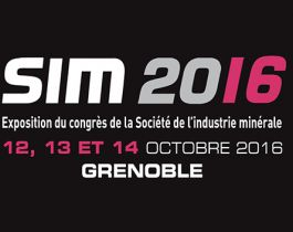 SIM 2016 / 12 to 14 October 2016 / GRENOBLE