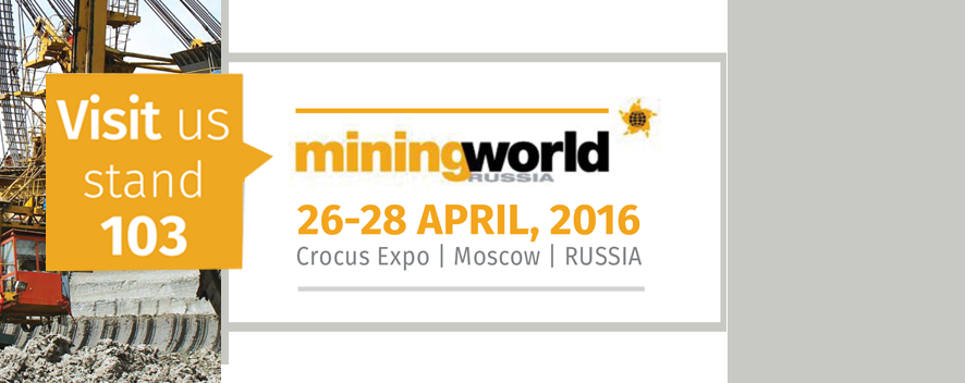 MININGWORLD 2016 // April 26 to 28 - 2016 // MOSCOW